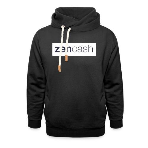 ZenCash CMYK_Horiz - Full - Unisex Shawl Collar Hoodie