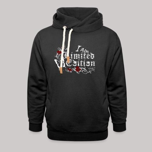 simply wild limited edition on black - Schalkragen Hoodie