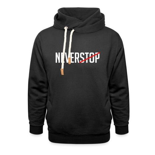 Neverstop - Unisex sjaalkraag hoodie