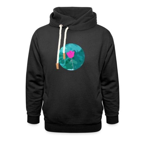 Flower power - Unisex sjaalkraag hoodie