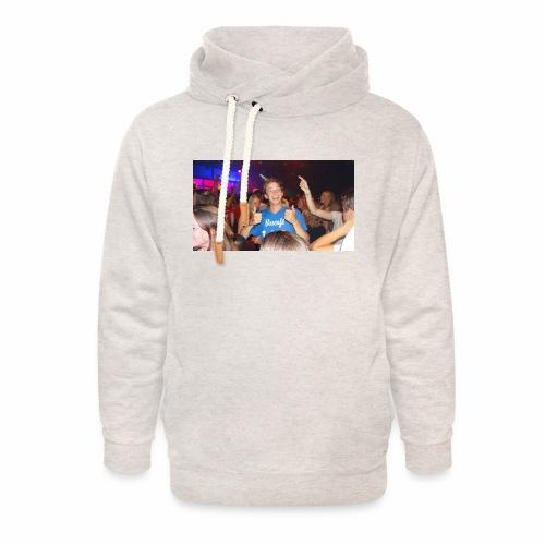 Thijstzj - Unisex sjaalkraag hoodie