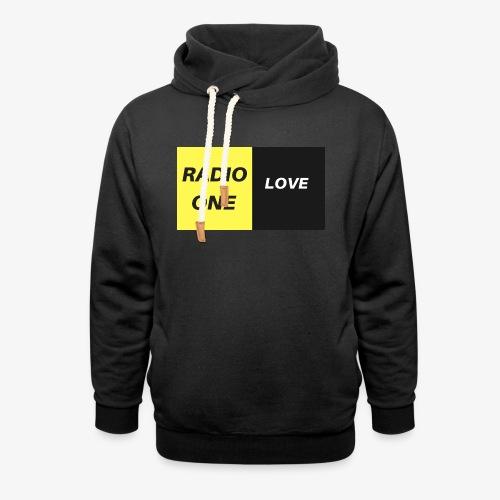 RADIO ONE LOVE - Sweat à capuche cache-cou