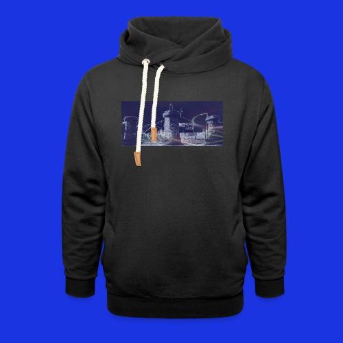 Bramley Moore Dock - Shawl Collar Hoodie