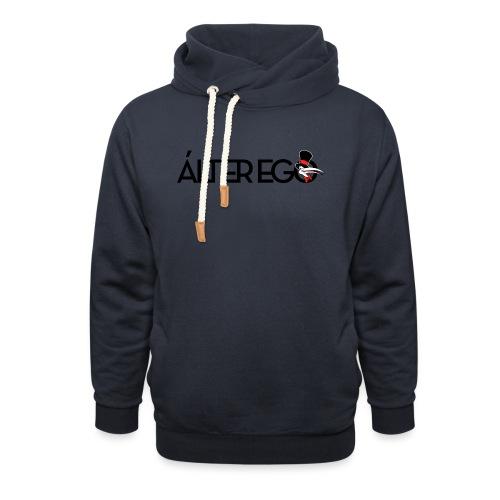 ÁLTER EGO - Sudadera con capucha y cuello alto