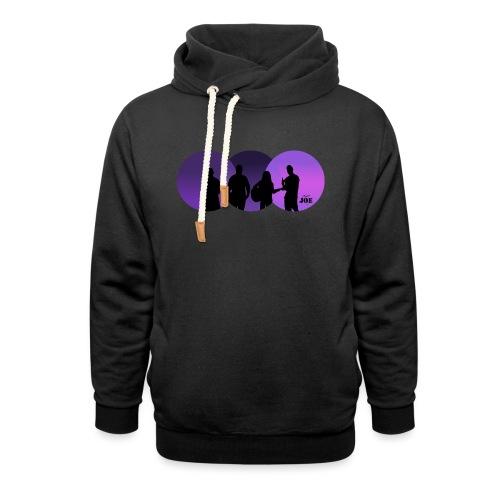Motiv Cheerio Joe violett - Schalkragen Hoodie