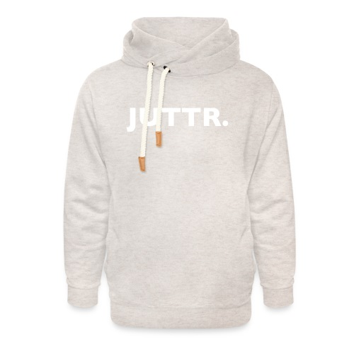 JUTTR. - Unisex sjaalkraag hoodie