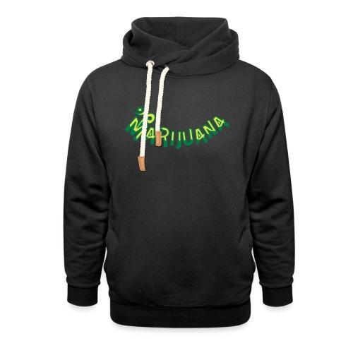 Om Marijuana - Shawl Collar Hoodie