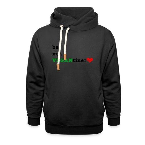 VEGANtine Green - Shawl Collar Hoodie