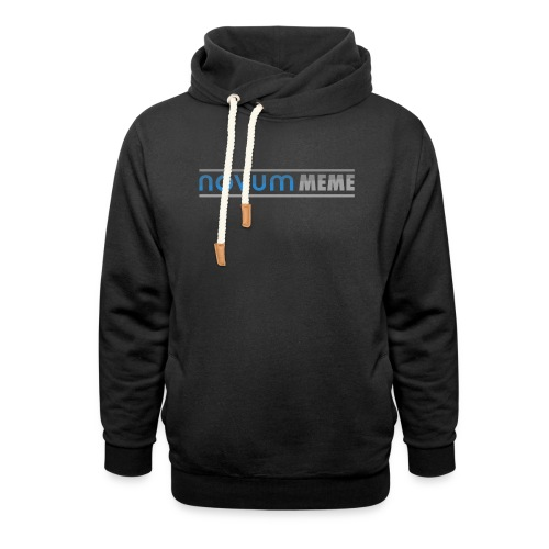 Novummeme trui - Unisex sjaalkraag hoodie