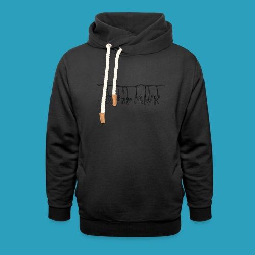 opnieuw png - Sjaalkraag hoodie