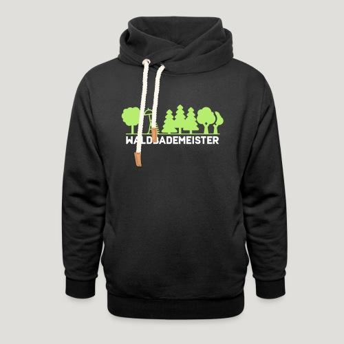 Waldbademeister fürs Waldbaden und Waldbad - Schalkragen Hoodie