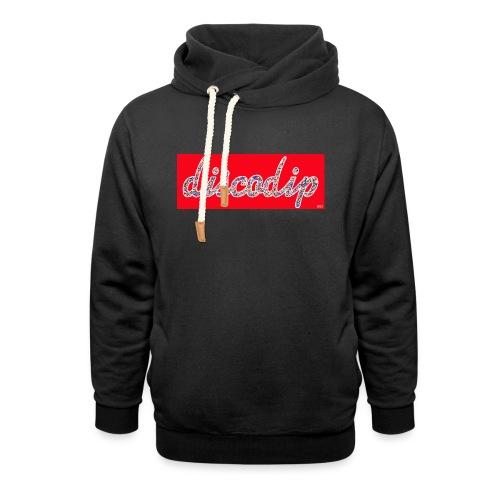 DISCODIP - Unisex sjaalkraag hoodie
