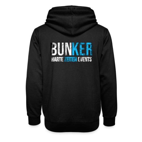 Bunker & Harte Zeiten Supporter - Unisex Schalkragen Hoodie