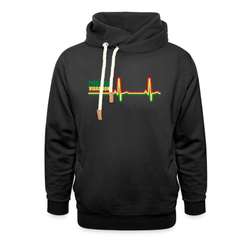 POSITIVE VIBRATION - Shawl Collar Hoodie