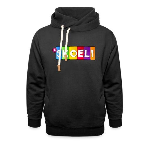 SKOEL merchandise - Sjaalkraag hoodie