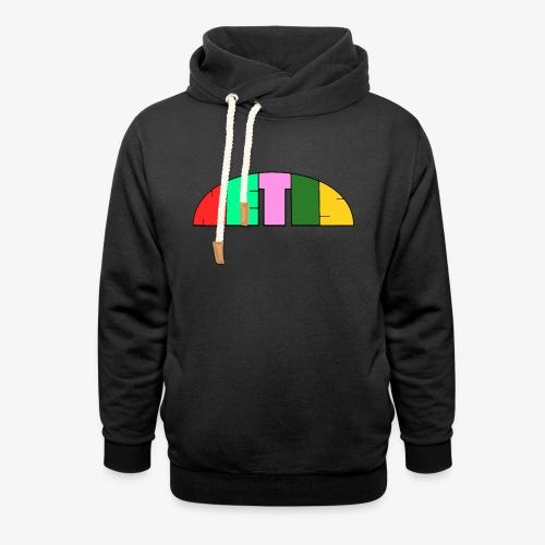 Metis rainbow logo - Shawl Collar Hoodie