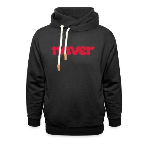 Naver (fra Det norske plagg) - Hettegenser med sjalkrage