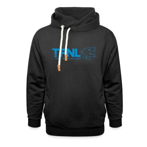 TFNL Blue Logo Hoodie - Shawl Collar Hoodie