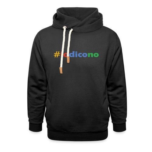 #iodicono - Felpa con colletto alto