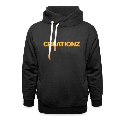 WOORDMERK PUNT NL ZWART - Unisex sjaalkraag hoodie