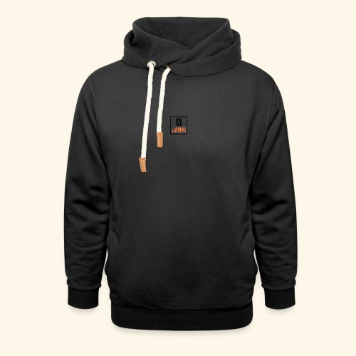 Janni Original Streetwear Collection - Unisex hoodie med sjalskrave