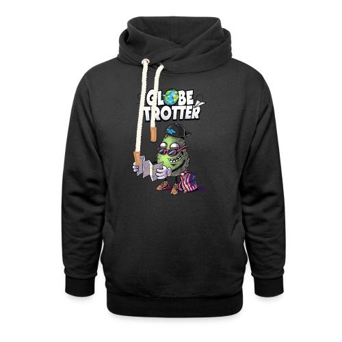 Globe trotter - Logo - Sweat à capuche cache-cou unisexe