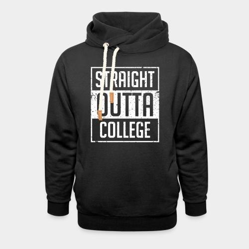 tout droit sorti du collège - Sweat à capuche cache-cou unisexe