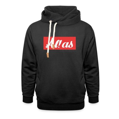 Al!as - Unisex hoodie med sjalskrave
