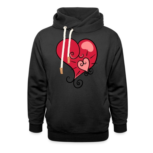 The world's most important. - Unisex Shawl Collar Hoodie