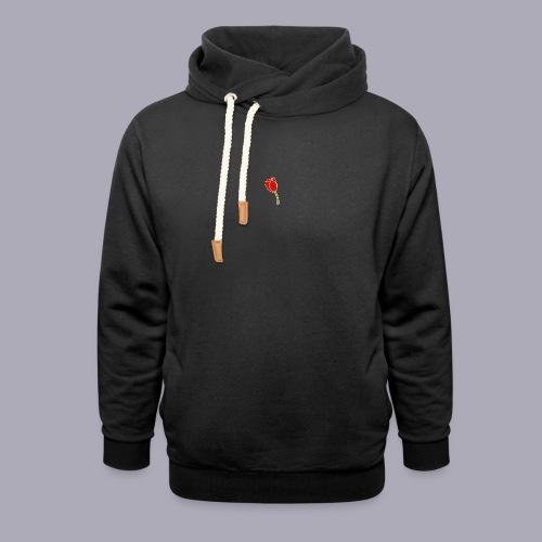 Tulip Logo Design - Unisex Shawl Collar Hoodie