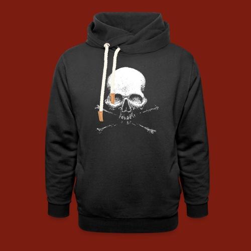 Old Skull - Shawl Collar Hoodie