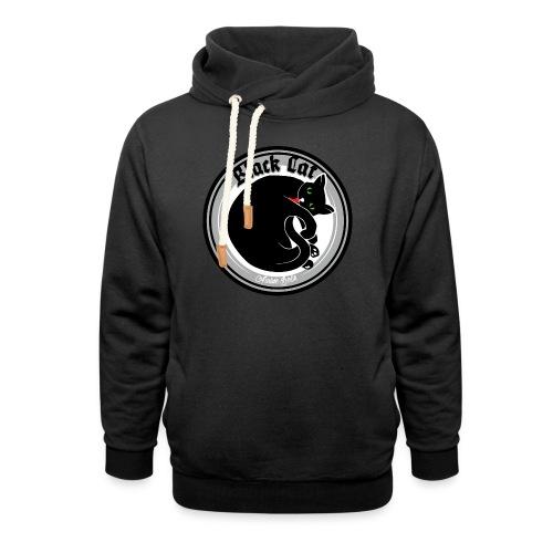 Black Cat - Schalkragen Hoodie
