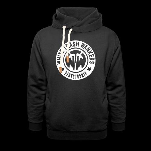 White Trash Wankers Pervotronic-Logo - Unisex Schalkragen Hoodie