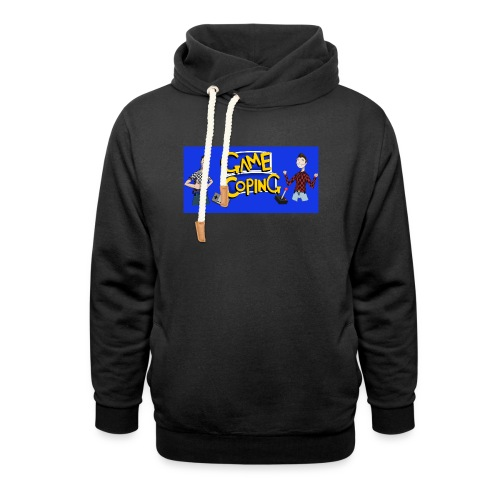 Game Coping Happy Banner - Shawl Collar Hoodie