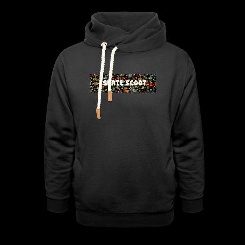 funny logo - Sjaalkraag hoodie