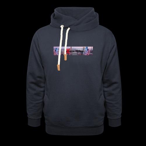 eXtreme fli99ers tryck på en tröja. - Luvtröja med sjalkrage unisex