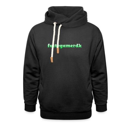 futtegamerdk trøjer badge og covers - Unisex hoodie med sjalskrave