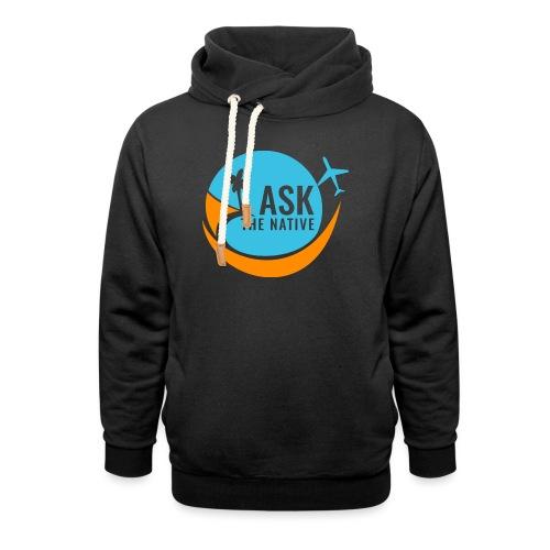 Ask the Native Original Logo - Unisex sjaalkraag hoodie