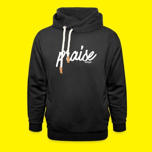 Praise (WHITE) - Unisex Shawl Collar Hoodie