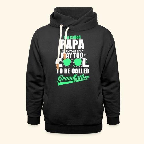 Cooles Papa Opa Grandfather T-Shirt Englisch - Schalkragen Hoodie