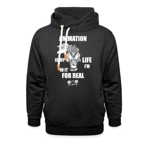 AMB Animation - In It For REAL - Shawl Collar Hoodie