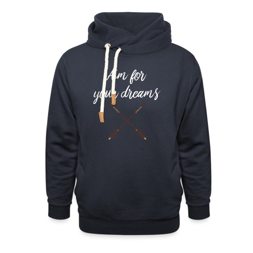 Aim for your Dreams white - Unisex huivikaulus huppari