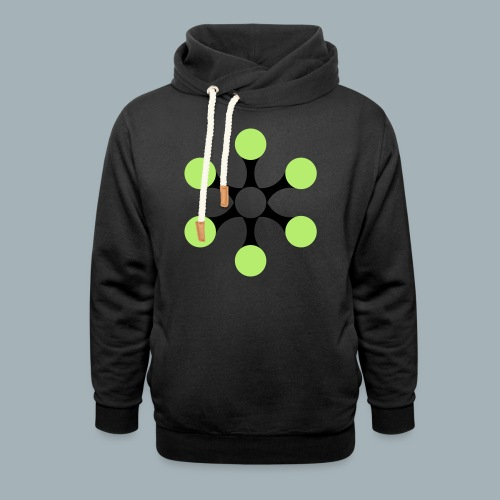 Star Bio T-shirt - Unisex sjaalkraag hoodie