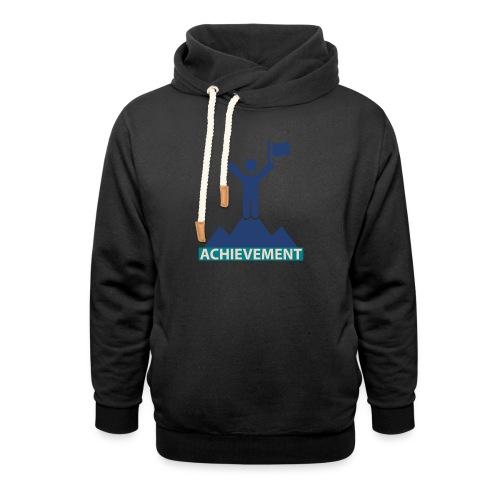 Typo Achivement by CloudMonde - Shawl Collar Hoodie