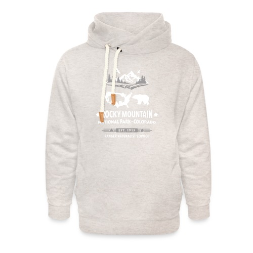 Rocky Mountain Nationalpark Berg Bison Grizzly Bär - Unisex Shawl Collar Hoodie