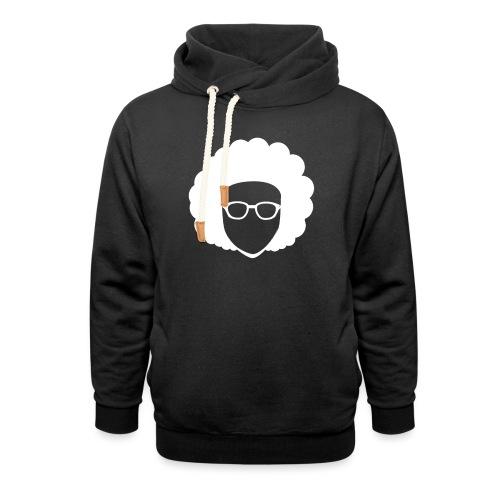 Afro Nerd - nerdy - Unisex Shawl Collar Hoodie