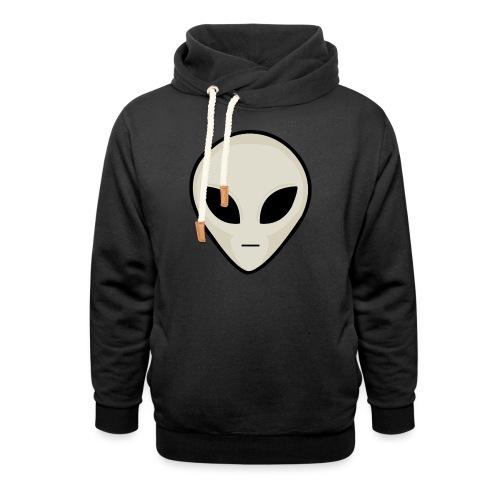 UFO Alien Head - Shawl Collar Hoodie