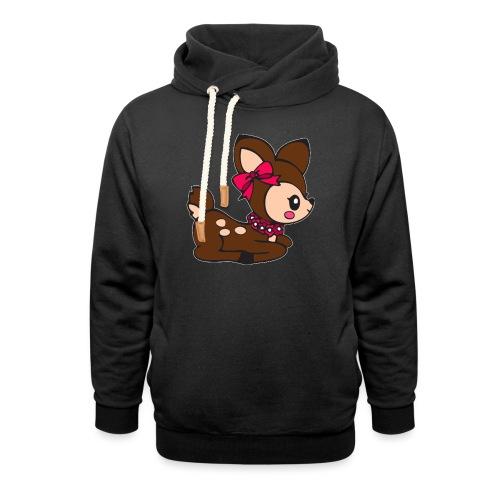 deer - Sjaalkraag hoodie