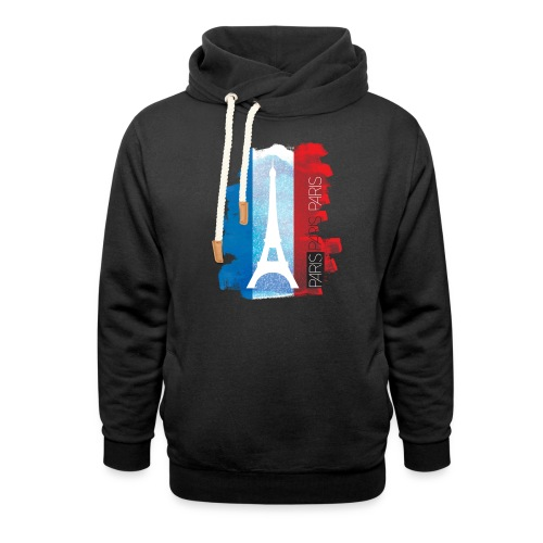 PARIS FRANCE - Shawl Collar Hoodie