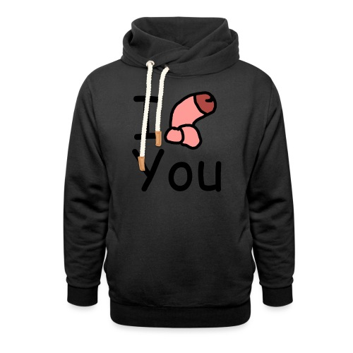 I dong you cup - Shawl Collar Hoodie
